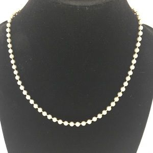 Jewelry - Sterling Silver Ball Chain Necklace